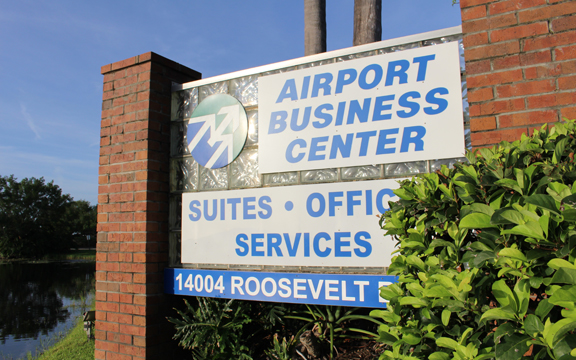 airport business center for lease
